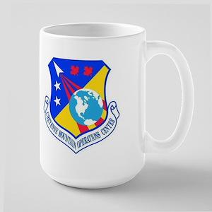 Cheyenne Mtn Ops Ctr Crest Large Mug Mugs
