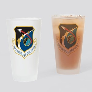 Missile & Space Center Crest Drinking Glass