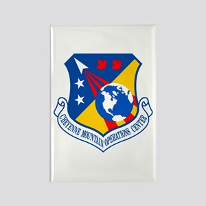 Cheyenne Mtn Ops Ctr Crest Rectangle Magnet