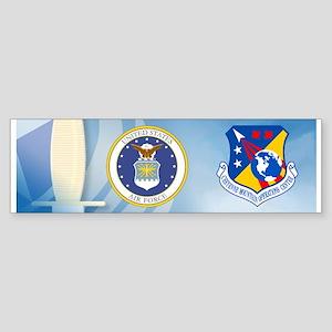 Cheyenne Mtn Ops Ctr Crest Sticker (Bumper)