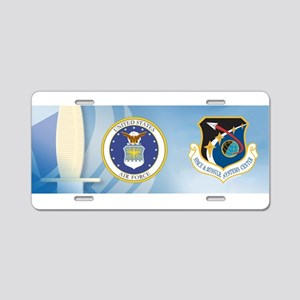 Missile & Space Center Cres Aluminum License Plate