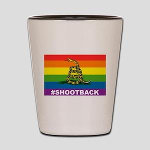 Rainbow Gadsden S-B Shot Glass