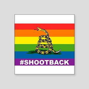 Rainbow Gadsden S-B Sticker