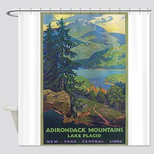 Adirondack Mountains.Lake Placid, New York Vintage