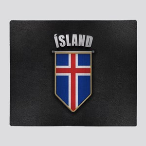 Iceland Pennant with high quality le Throw Blanket
