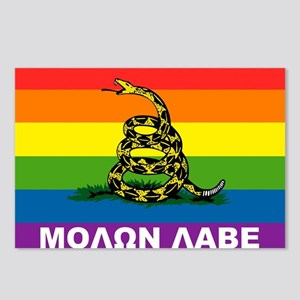 Rainbow Gadsden Labe Postcards (Package of 8)