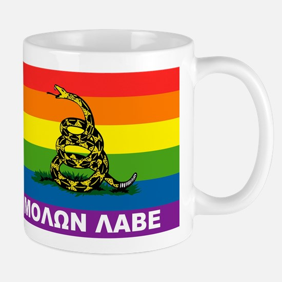 Rainbow Gadsden Labe Mugs