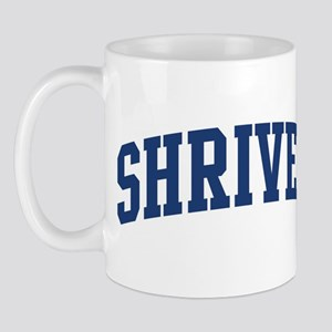 SHRIVER design (blue) Mug
