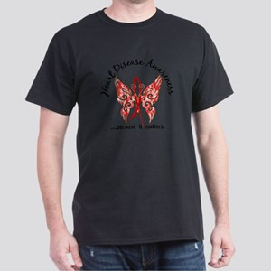 Heart Disease Butterfly 6.1 T-Shirt