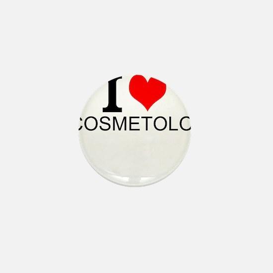 I Love Cosmetology Mini Button