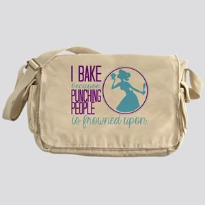I Bake Because Messenger Bag