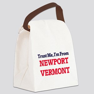 Trust Me, I'm from Newport Vermon Canvas Lunch Bag