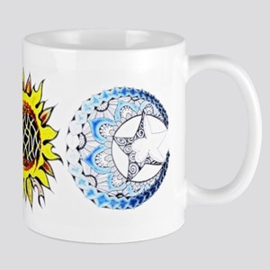 celestial tattoo Mugs