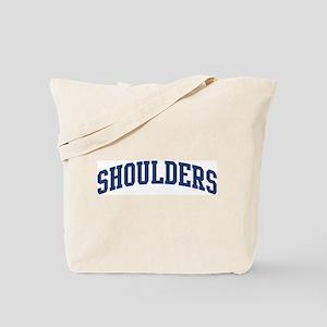 SHOULDERS design (blue) Tote Bag