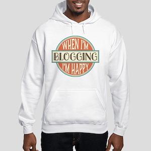 happy blogger Hooded Sweatshirt