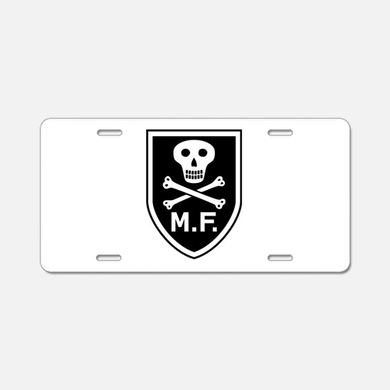 Mike Force Aluminum License Plate