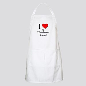 I Love My Physiotherapy Assistant BBQ Apron