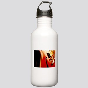 Jazz Guitar Closeup Stainless Water Bottle 1.0L
