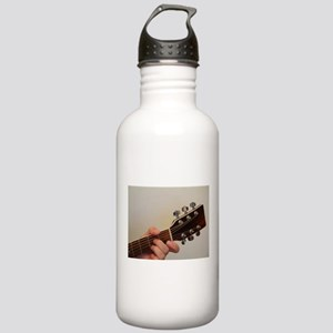Guitar Player Stainless Water Bottle 1.0L