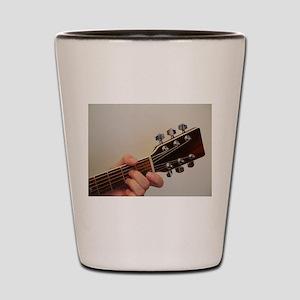 Guitar Player Shot Glass