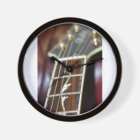 Fancy Guitar Fingerboard Wall Clock