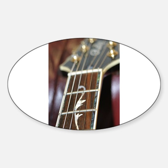 Fancy Guitar Fingerboard Decal
