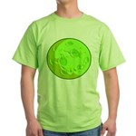 Green Moon Green T-Shirt, Back #1