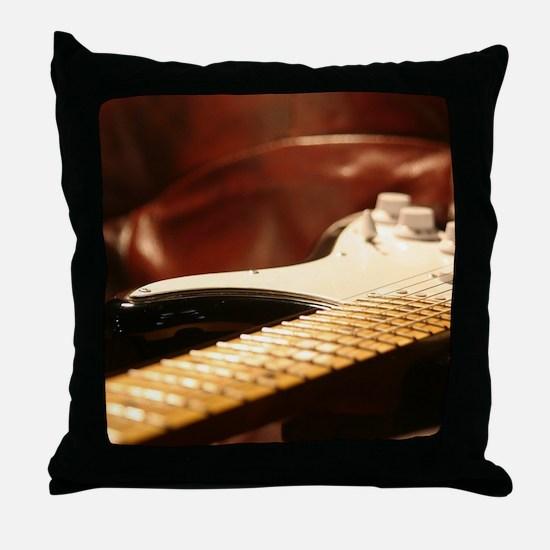 Fretboard Throw Pillow