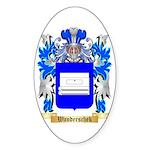 Wanderschek Sticker (Oval)
