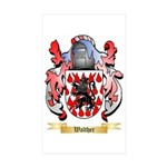Walther Sticker (Rectangle 50 pk)