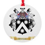 Waltham Round Ornament