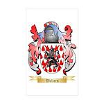 Walters Sticker (Rectangle 50 pk)