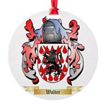 Walter Round Ornament