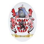 Walter Oval Ornament