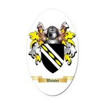 Walster Oval Car Magnet