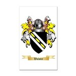 Walster Rectangle Car Magnet