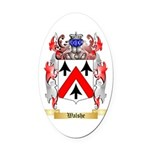 Walshe Oval Car Magnet