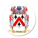 Walshe Round Car Magnet