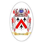 Walshe Sticker (Oval 50 pk)