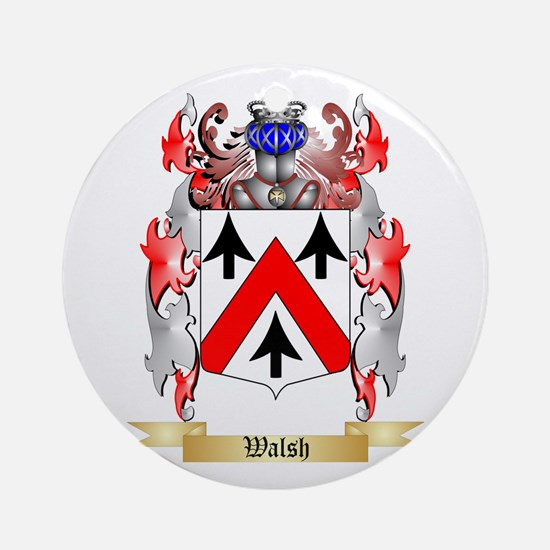 Walsh Round Ornament