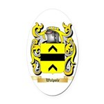Walpole Oval Car Magnet