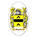 Walpole Sticker (Oval 10 pk)