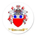 Walmisley Round Car Magnet