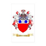 Walmisley Sticker (Rectangle 50 pk)