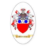 Walmisley Sticker (Oval)