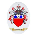Walmisley Oval Ornament