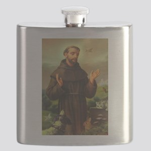 St. Francis of Assisi Flask