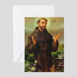 St. Francis of Assisi Greeting Cards