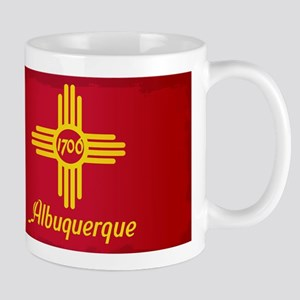 Albuquerque City Flag Mugs