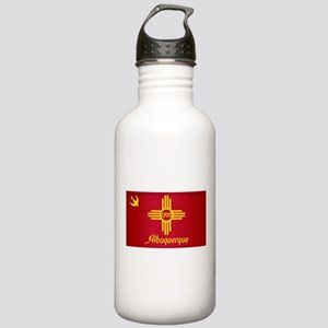 Albuquerque City Flag Stainless Water Bottle 1.0L